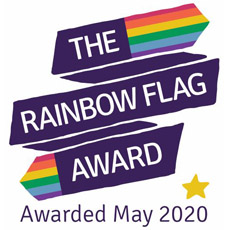 Rainbow Flag Award Logo
